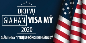 Dịch Vụ Gia Hạn Visa Mỹ 2020