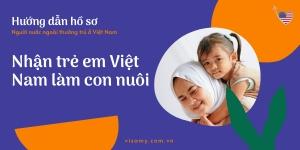 Hướng Dẫn Hồ Sơ Người Nước Ngoài Thường Trú Ở Việt Nam Nhận Trẻ Em Việt Nam Làm Con Nuôi