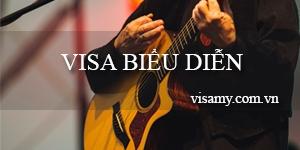 Thủ tục xin visa Mỹ biểu diễn (Visa P-3)